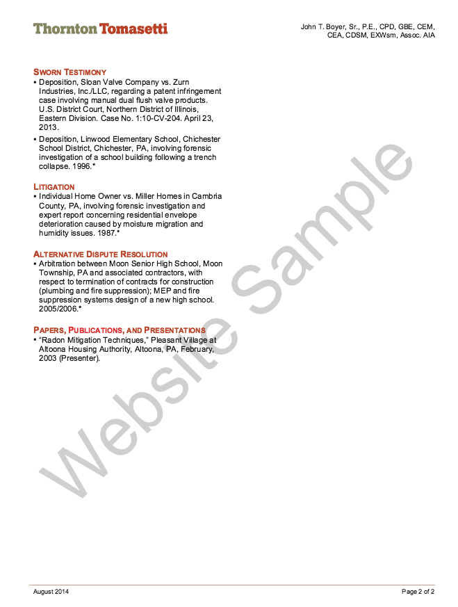 Forensic Engineering Resume Sample  HttpResumesdesignCom