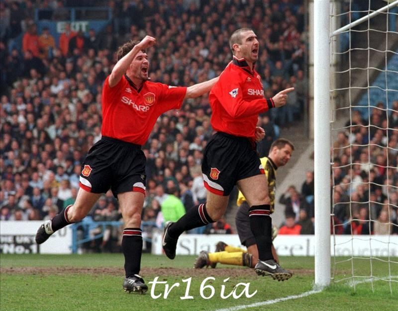 But cantona was something else. Roy Keane and Eric Cantona