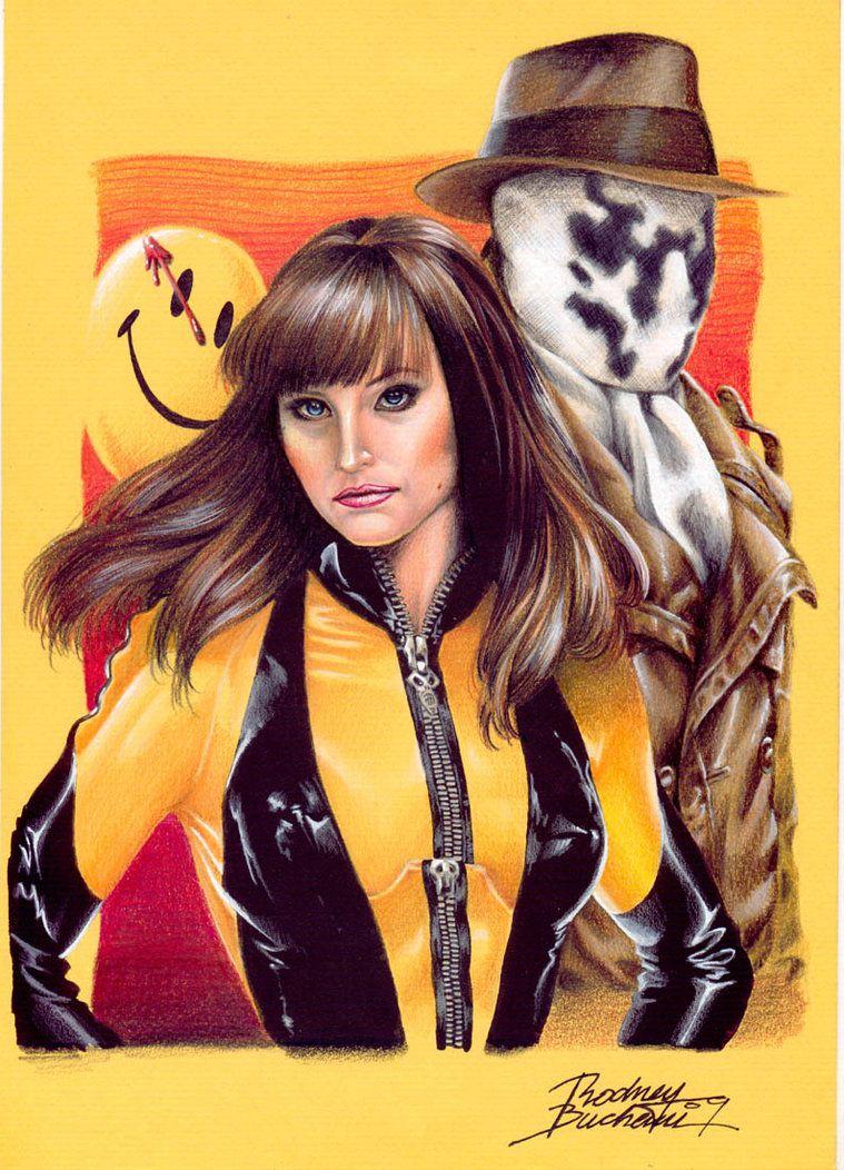 Silk Spectre & Rorschach by Rodney Buchemi | Dc comics ...