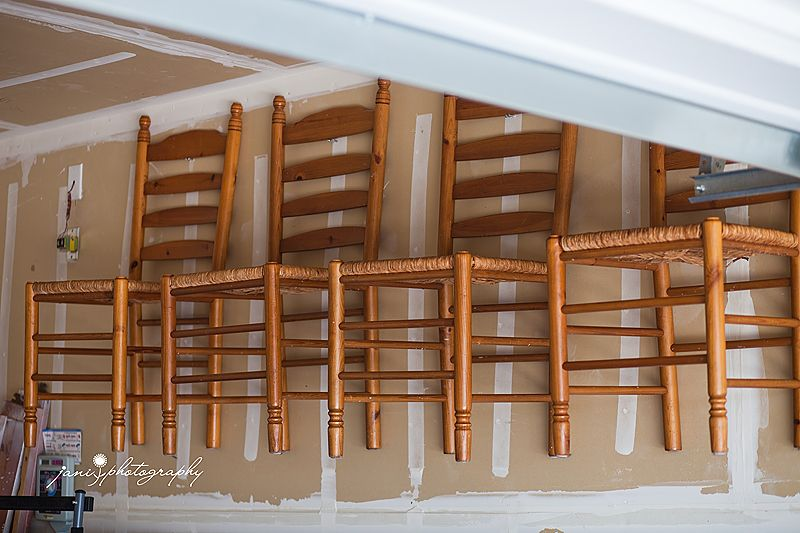Hang Extra Dining Chairs On The Wall In Your Garage Impressions
