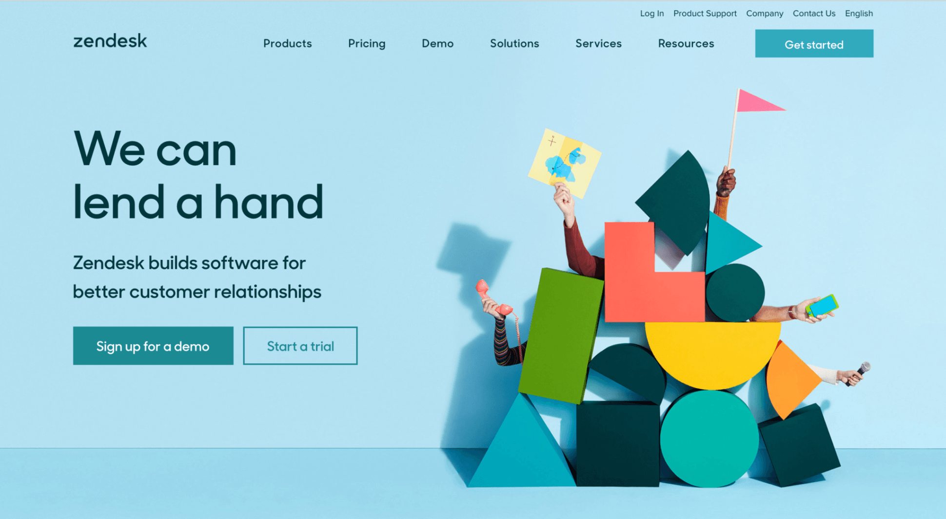 Top 20 Examples Of Amazing Web Design From Some Of The Best Saas Companies Website Design Learn Ux Design Customer Relationships