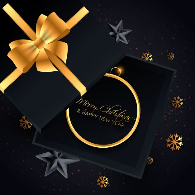 Elegant Black And Gold Christmas Background Christmas Background Christmas Facebook Cover Merry Christmas Greetings