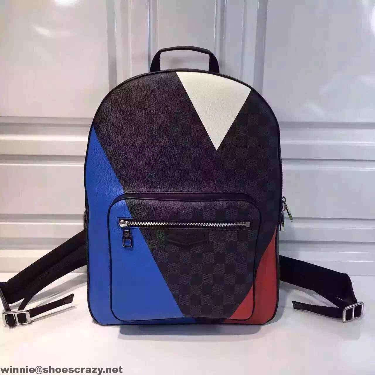 ea5879b49f9b Louis Vuitton America s Cup Damier Cobalt Regatta Josh Backpack Bag N41612  2016