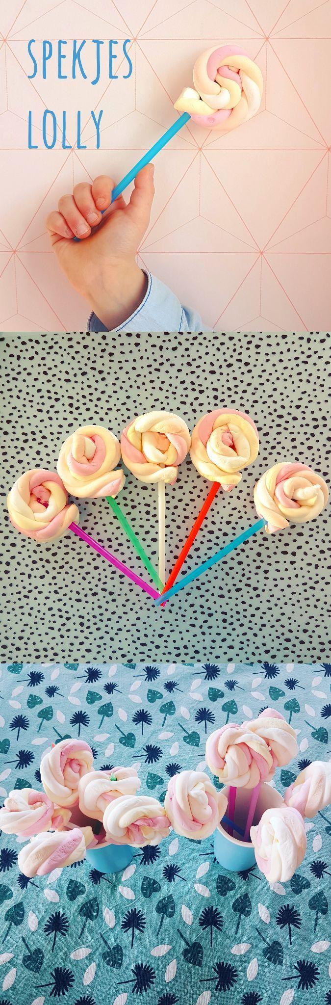 Leuke traktatie voor verjaardag: zelfgemaakte spekjes lolly - Leuk met kids