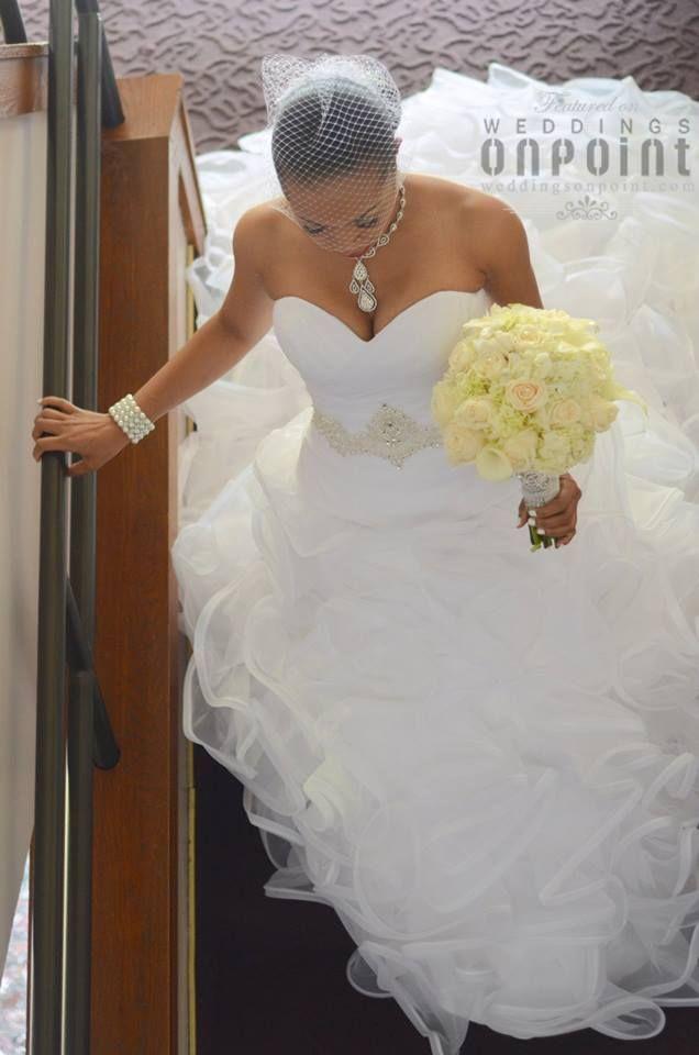 Beautiful American Brides   Beautiful African-American Bride ...