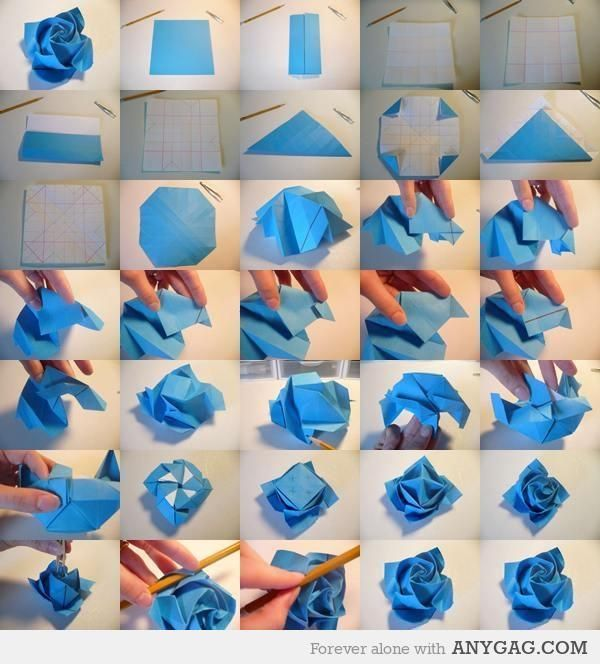 how to do a origami rose origami pinterest origami