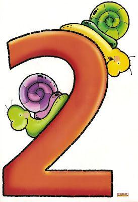 desenhos de números coloridos para imprimir númerais coloridos
