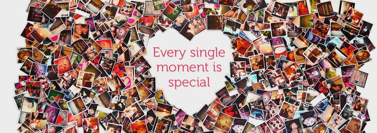 Every single moment is special  Turn instagram photos into magnets  Brilliant!