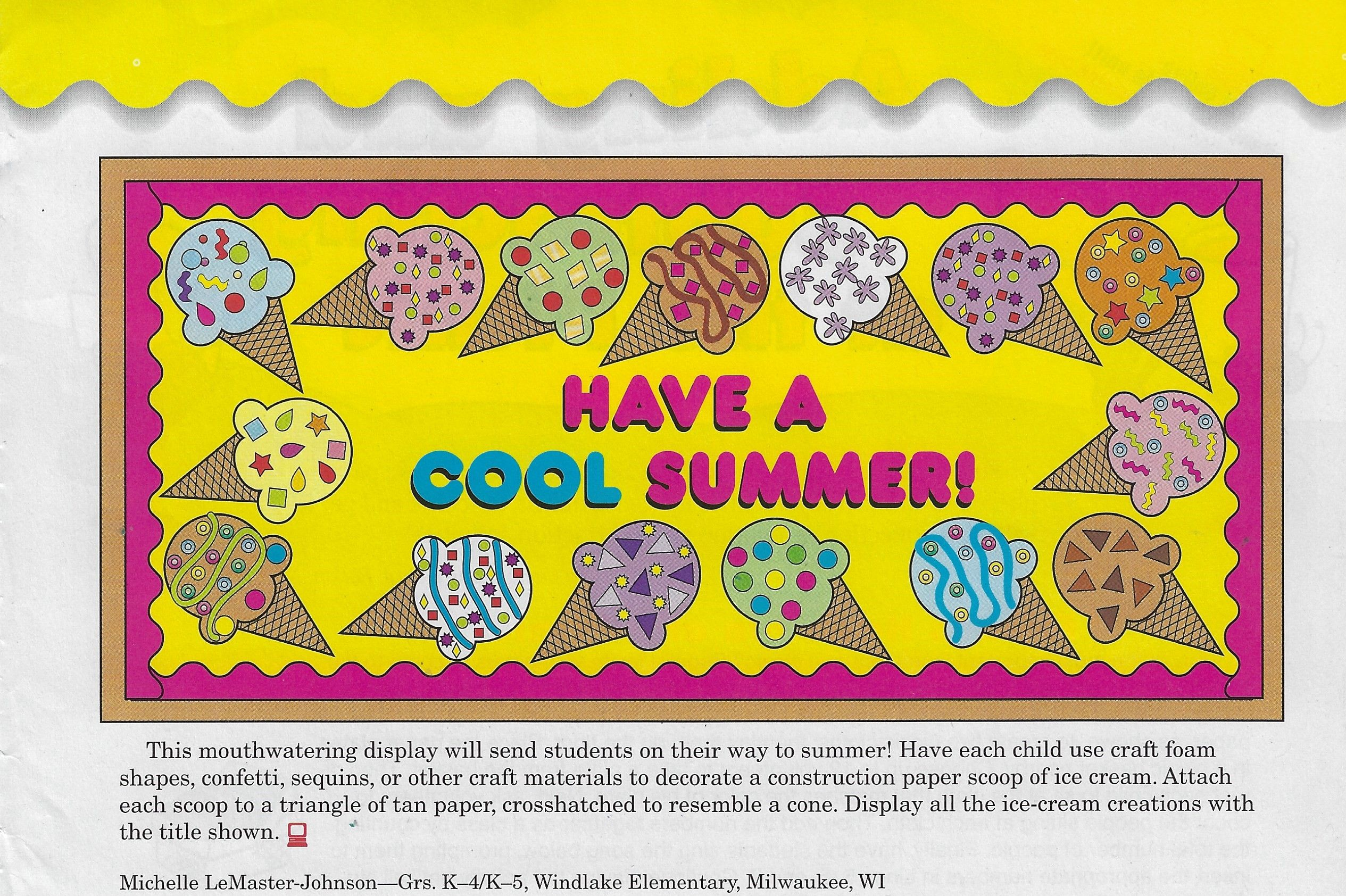 Summer Decor By Guylaine Labbe On Food Theme Preschool