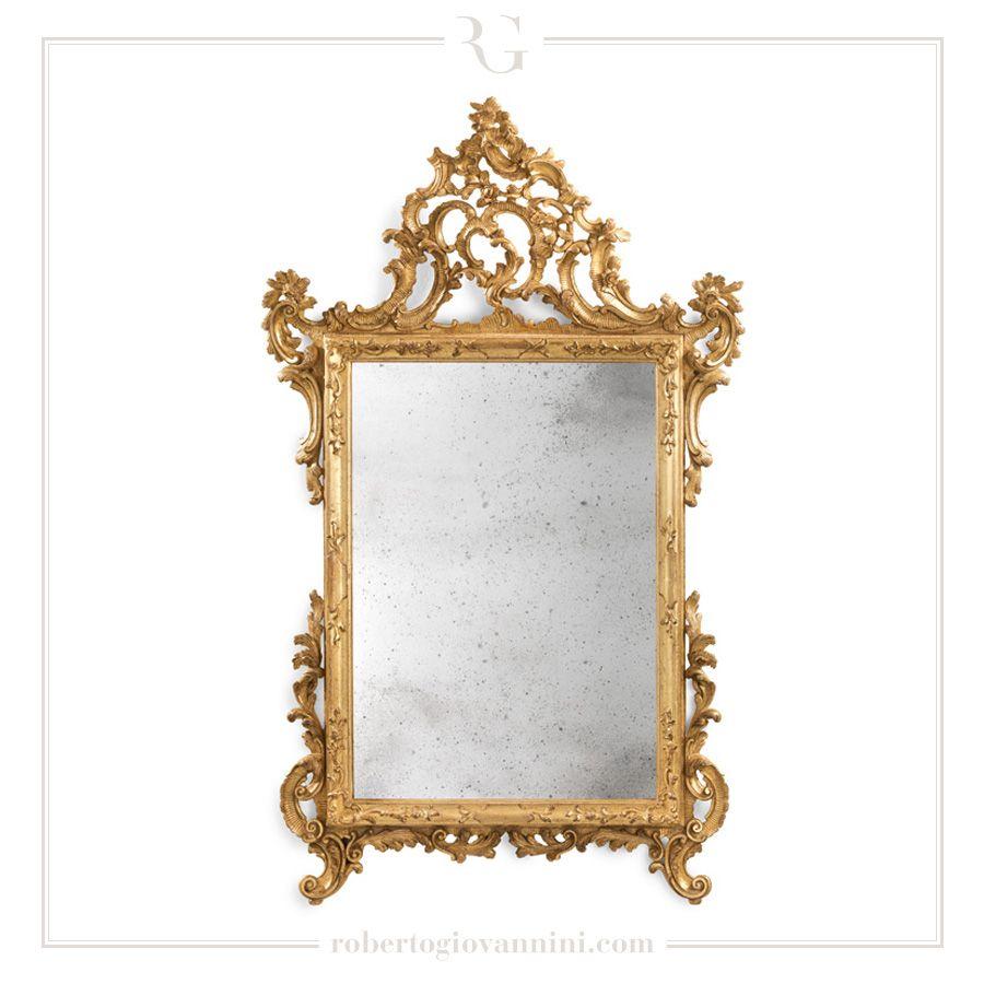art. 830 Mirror Frame half XVIII C. Venetian | Mirror colleciton ...