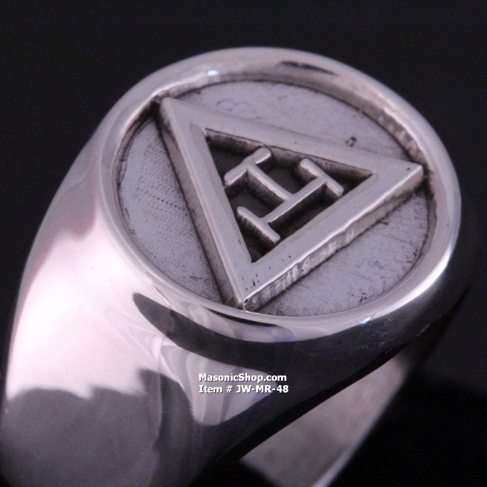 Royal Arch Masonic Ring Meanings And Truths Pinterest
