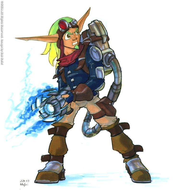 Video Game Characters, Jak