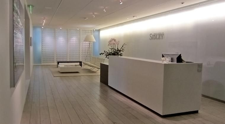 Sidley austin hoguesf office furniture project for Design consultancy chicago