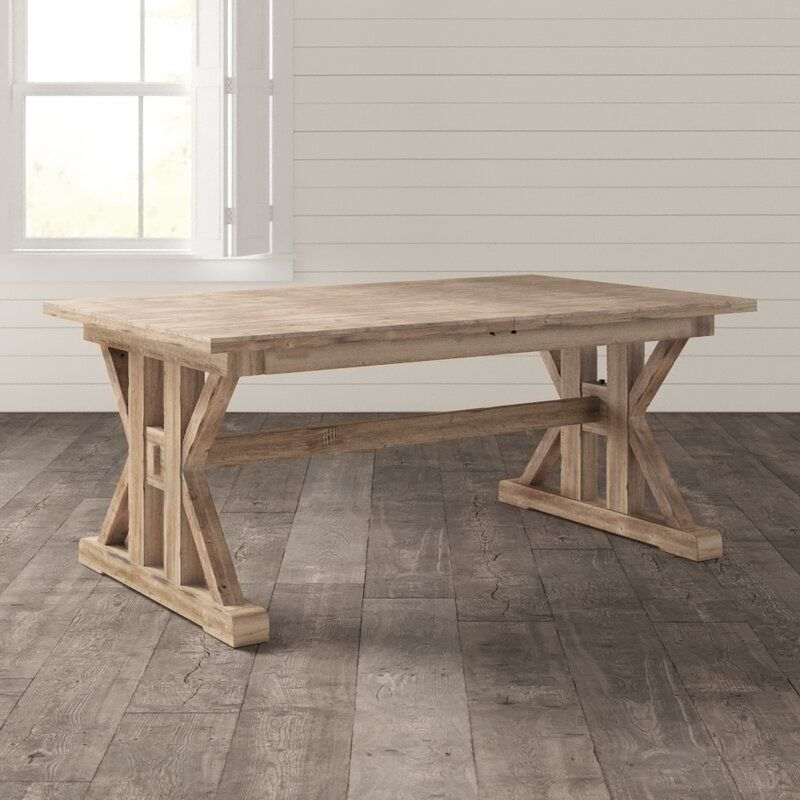 Extendable Pine Solid Wood Dining Table In 2020 Dining Table