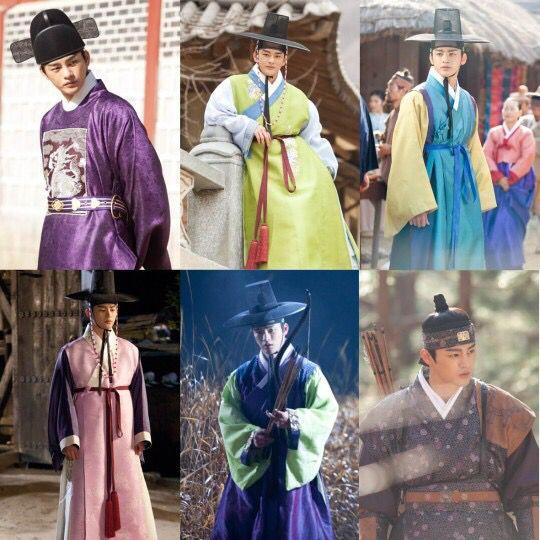 한복 hanbok, Korean traditional clothes 드라마 왕의얼굴 서인국