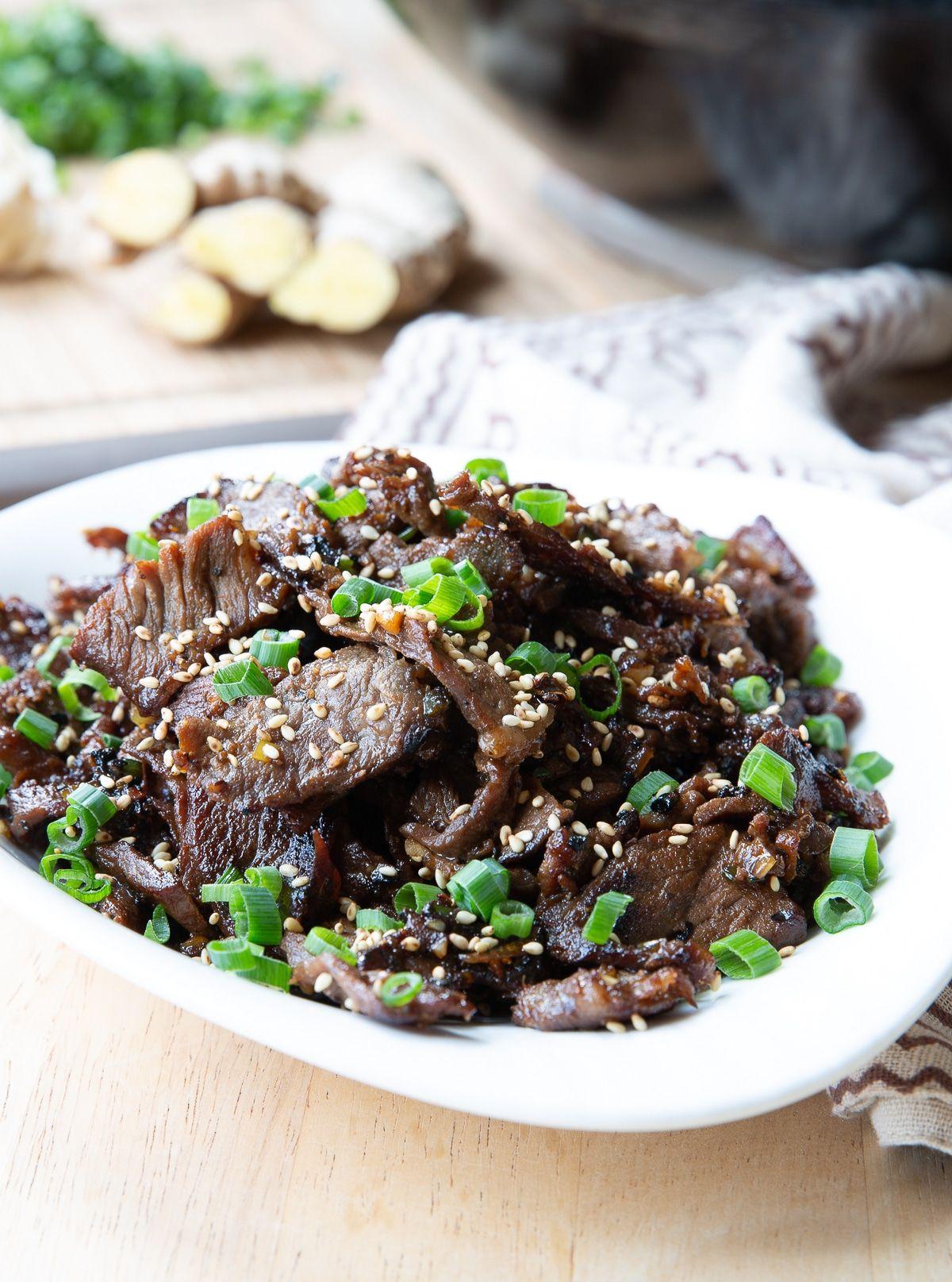 Bulgogi Beef Recipe #ASpicyPerspective #KoreanBBQ # ...