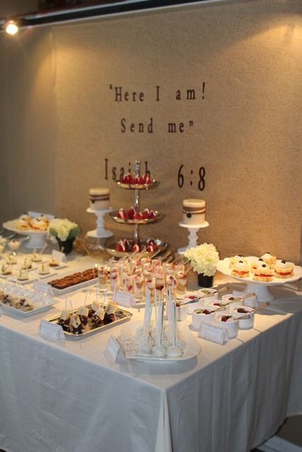 Party Ideas Confirmation Party Elegant Party Party Dessert Table