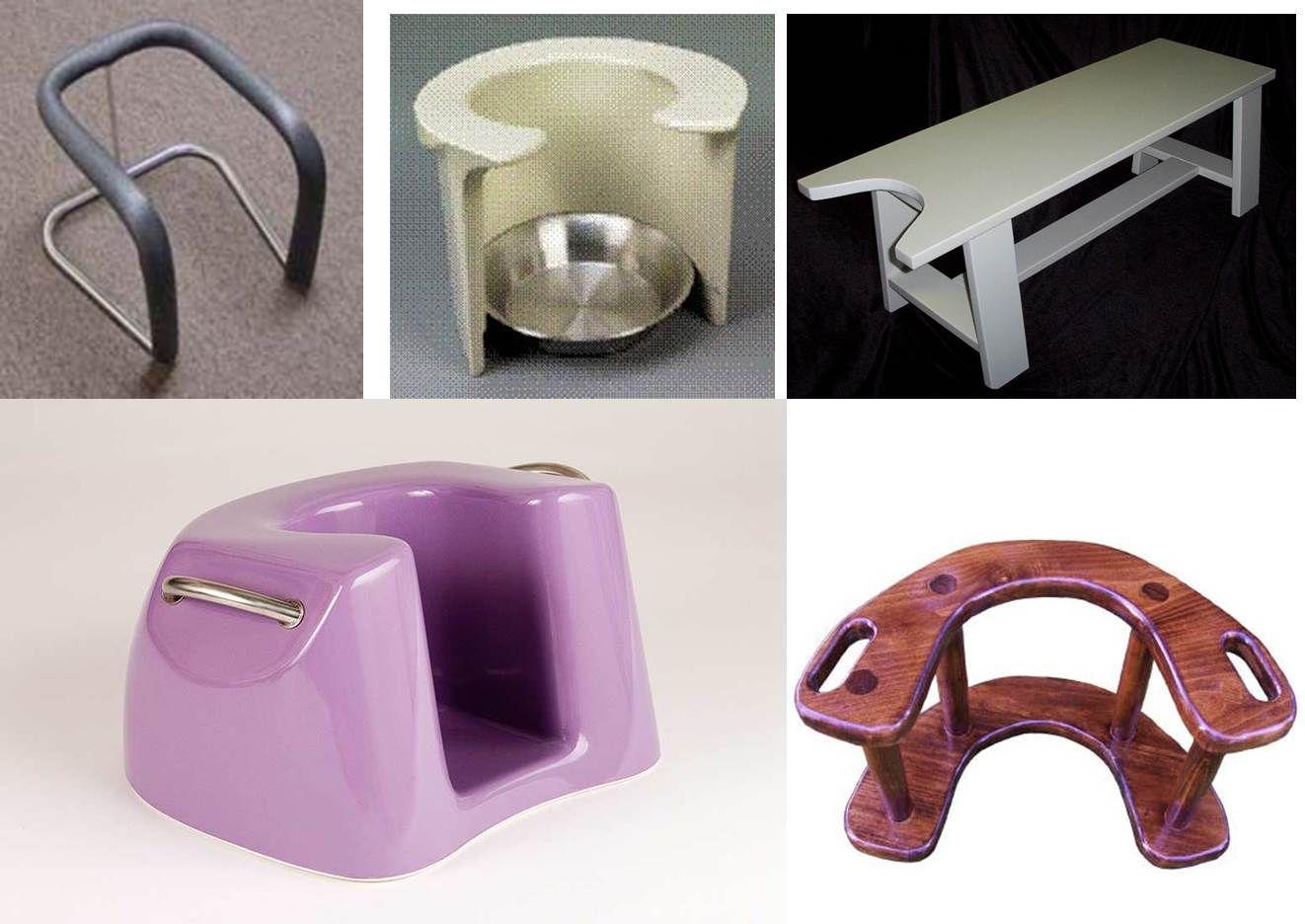 birth stool options mama!)