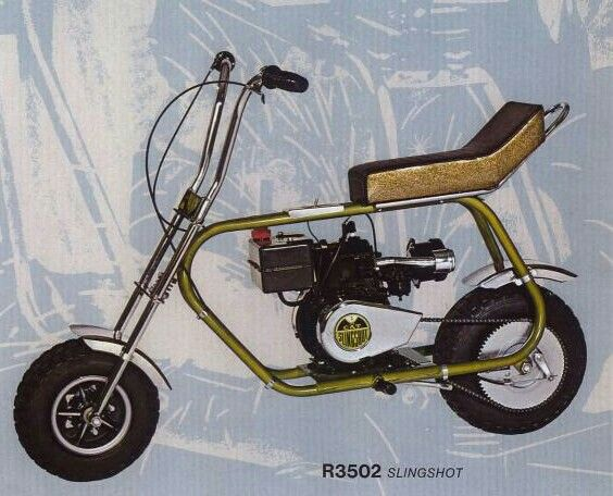 Cat Slingshot Minibike Mini Bike Vintage Bikes Go Kart