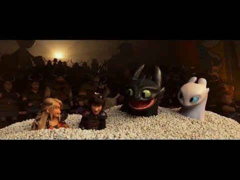 HTTYD3: Popcorn TV Spot - YouTube | DreamWorks: How to Train