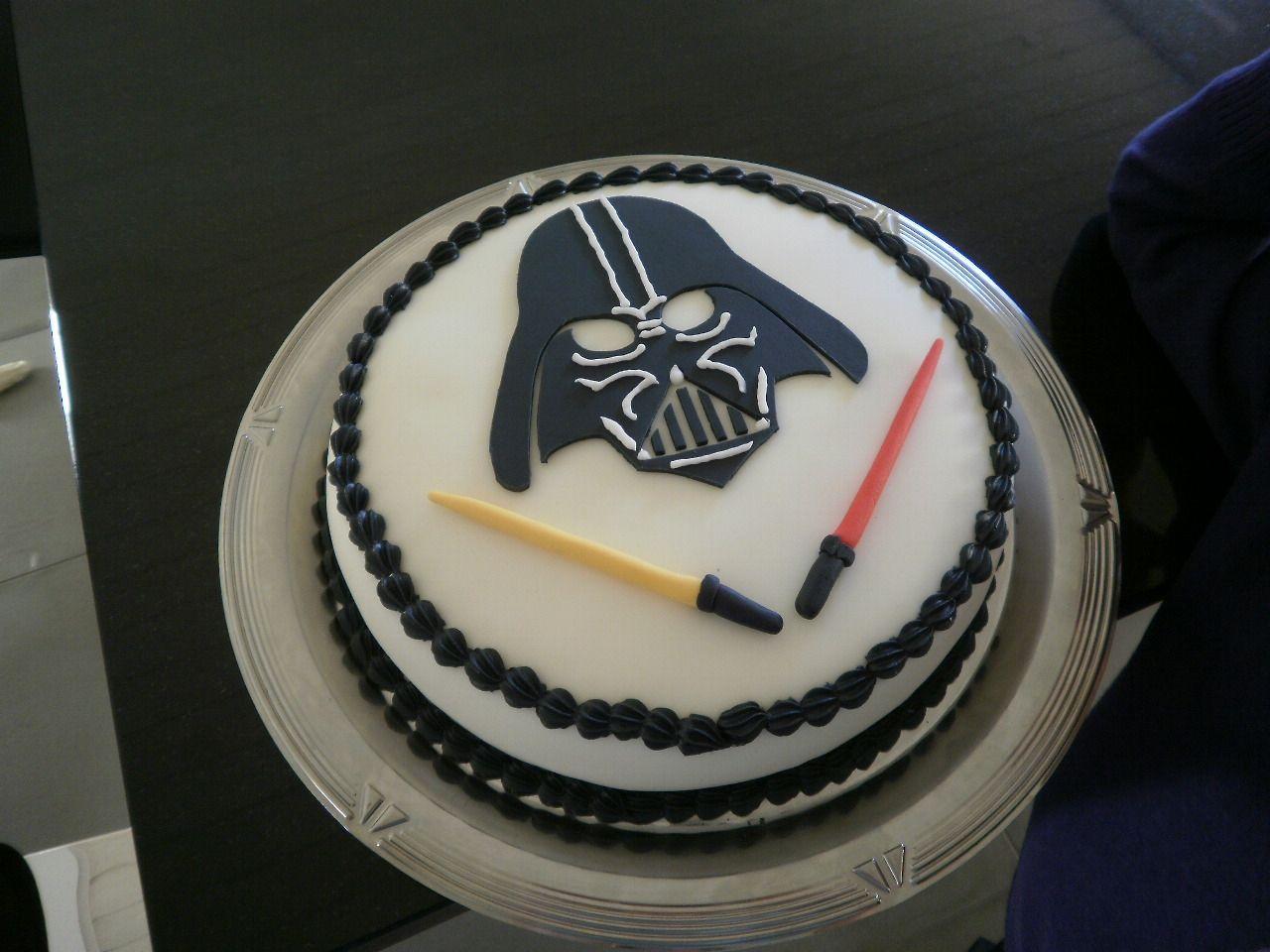 Darth Vader Cake Birthday Pinterest Cake Star Wars Cake And