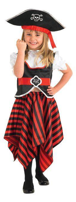raggy fille de pirate enfants costume de d guisement. Black Bedroom Furniture Sets. Home Design Ideas
