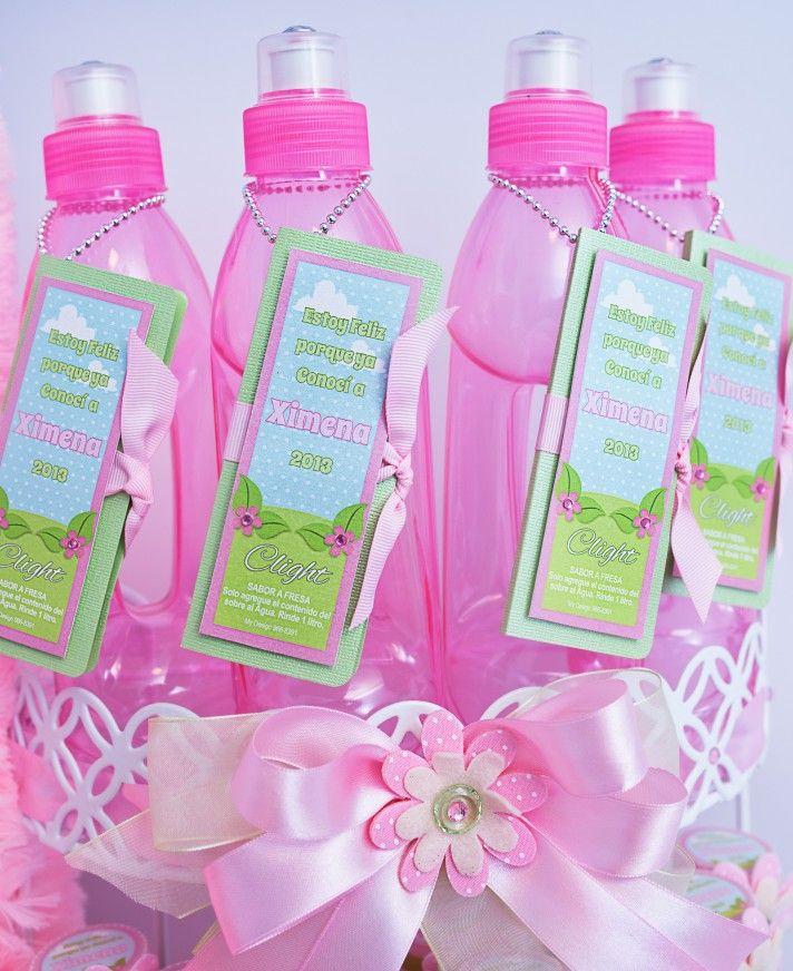 Recordatorios de nacimiento botellas decoradas - Botellas de plastico decoradas ...