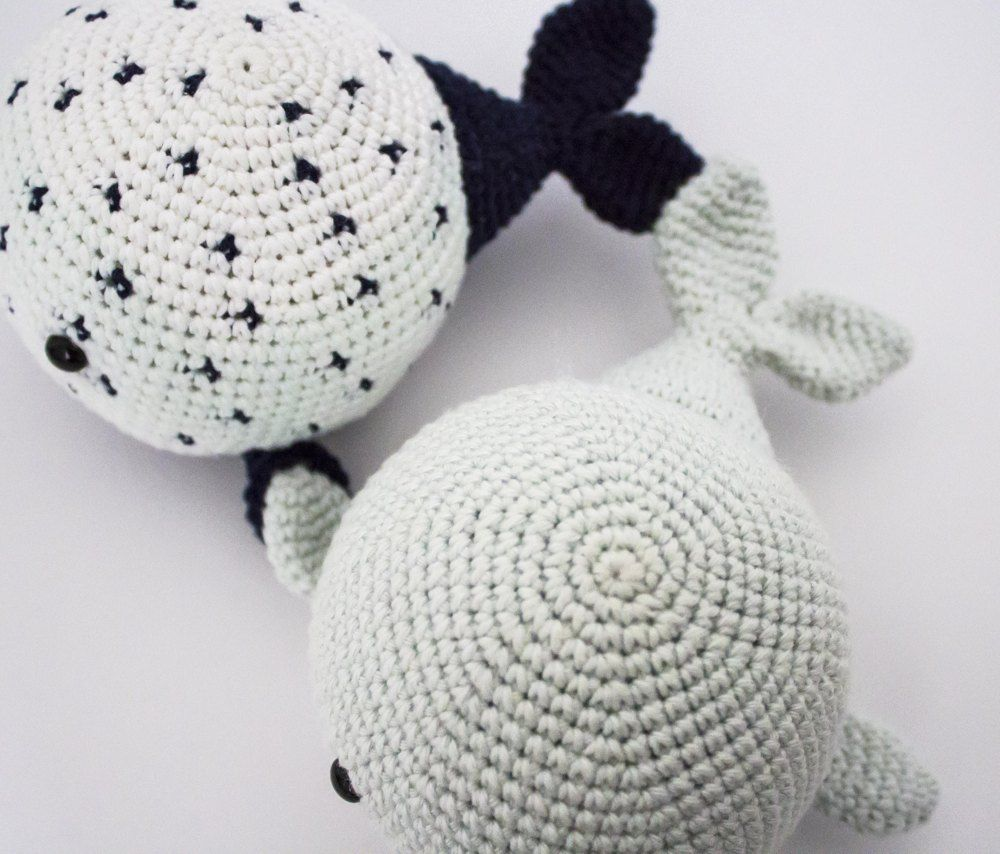 Wallace and Wanda the Whales Free | CROCHET | Pinterest | Ganchillo ...
