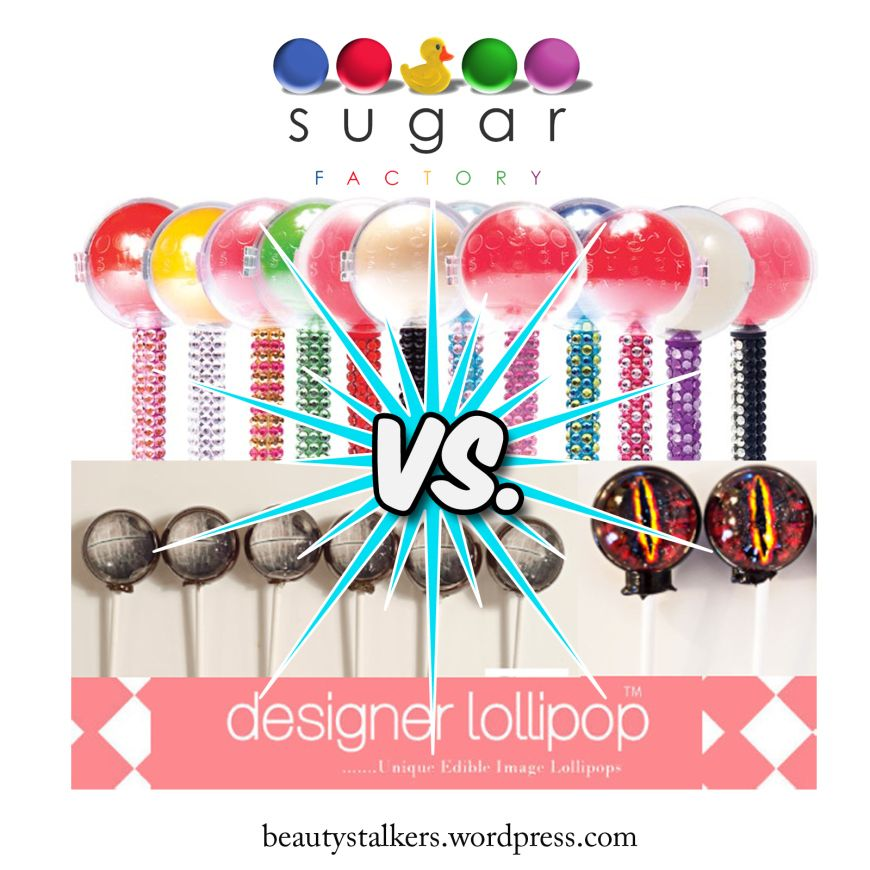 Move over Sugar Factory there is a new lollipop in town called Designer Lollipop!  A must try!