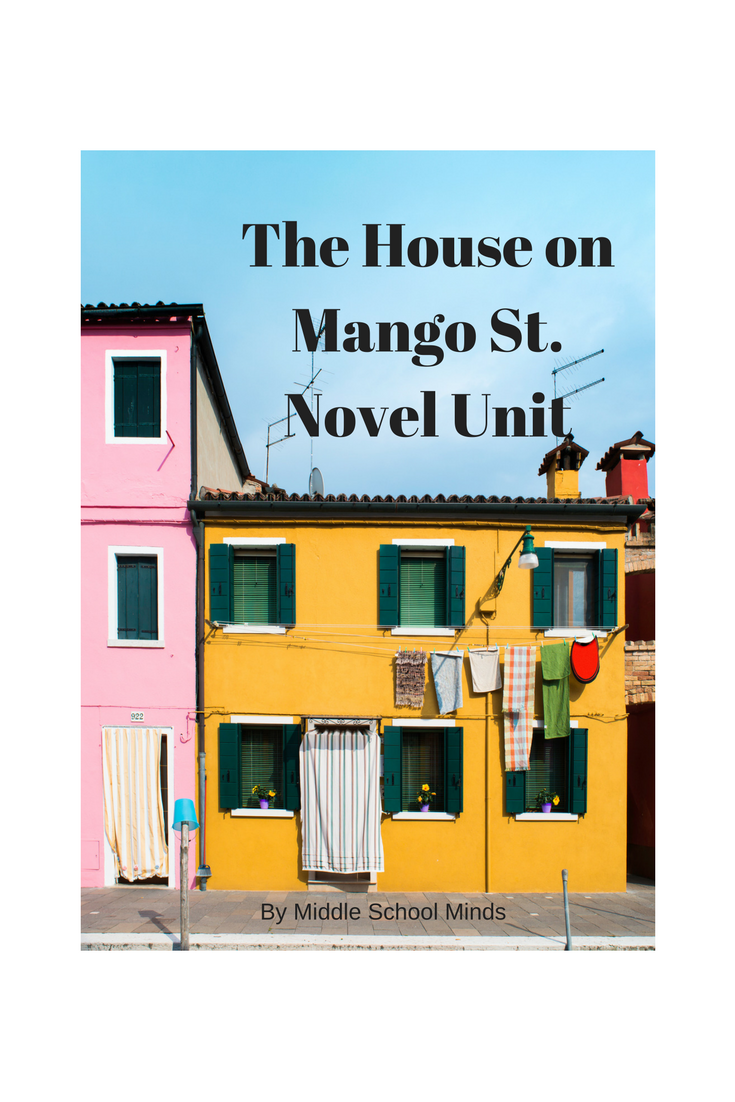 House On Mango Street   Novel Unit Plan
