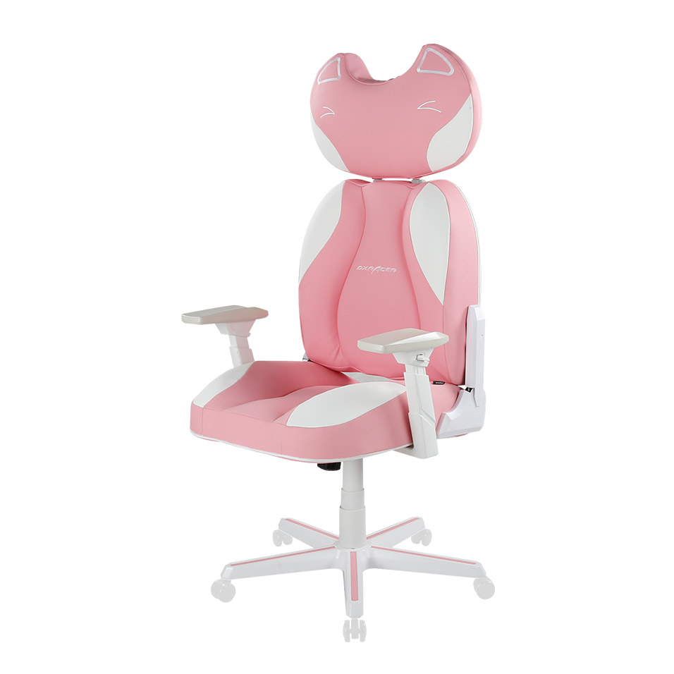 Pink Kitty Chair Conventional Pu Leather Gaming Chair Ja001 Special Editions Gaming Chair Gamer Room Bedroom Decor Inspiration