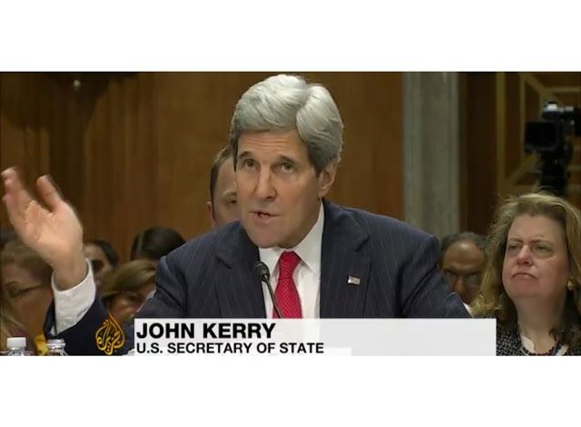 Remember Tomorrow: Kerry says Russia stirs 'chaos' in Ukraine