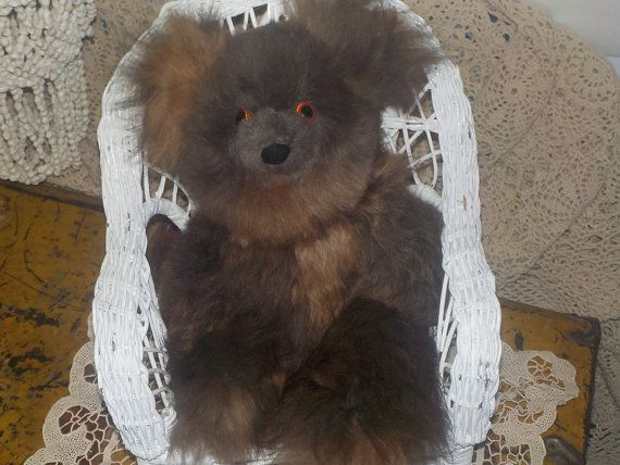 Real Fur Two Toned Colored Little Furball by Daysgonebytreasures