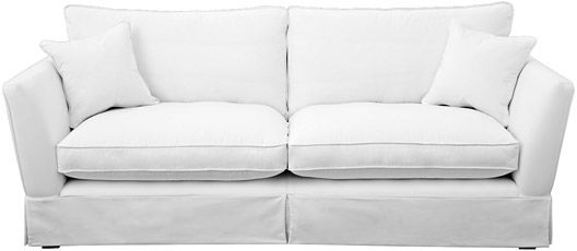 Weybourne large sofa loose cover Forth Espresso from Sofas and Stuff ...