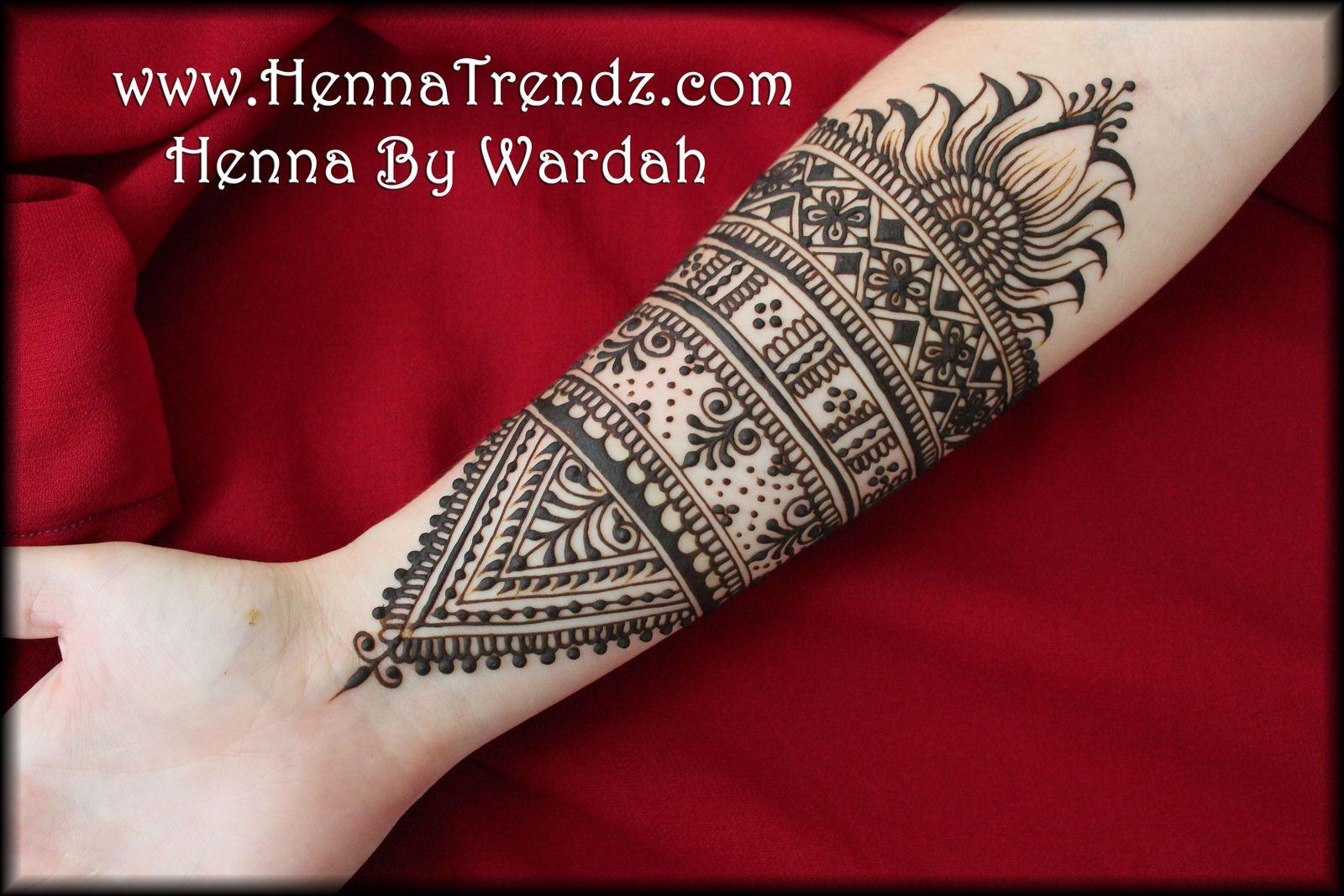 Floral Moroccan Mehndi design- San Diego | Flickr - Photo Sharing!