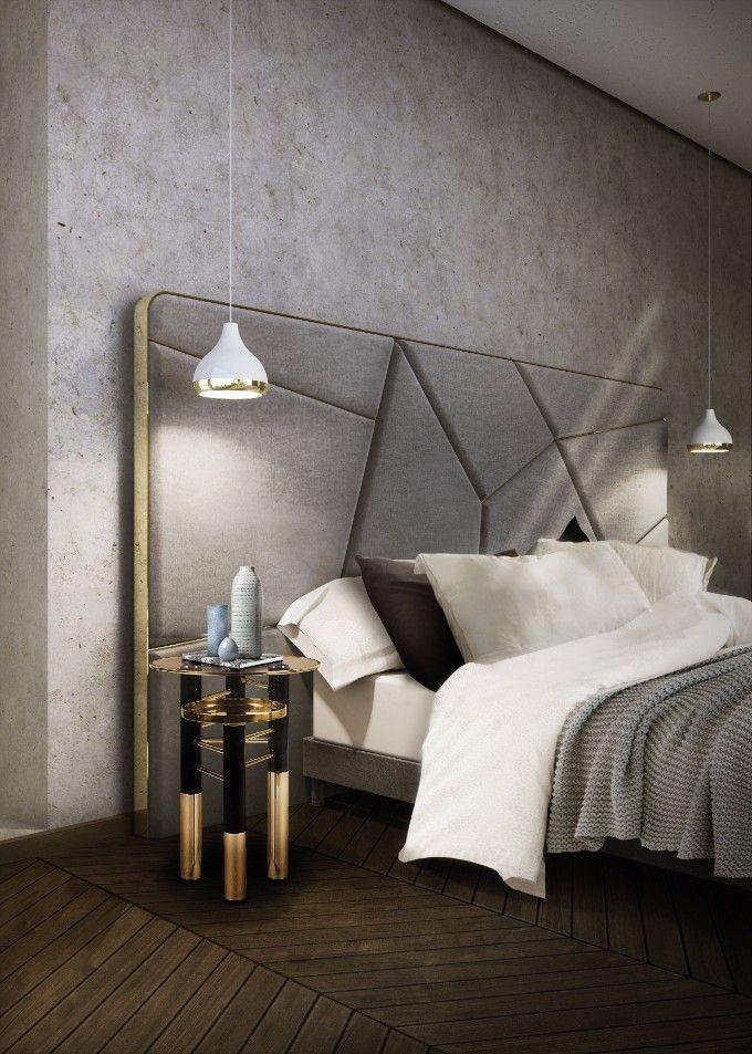 Luxuriöses Schalfzimmer Tendenzen | @brabbu | @bocadolobo | @delightfull | www.wohnenmitklassikern.com