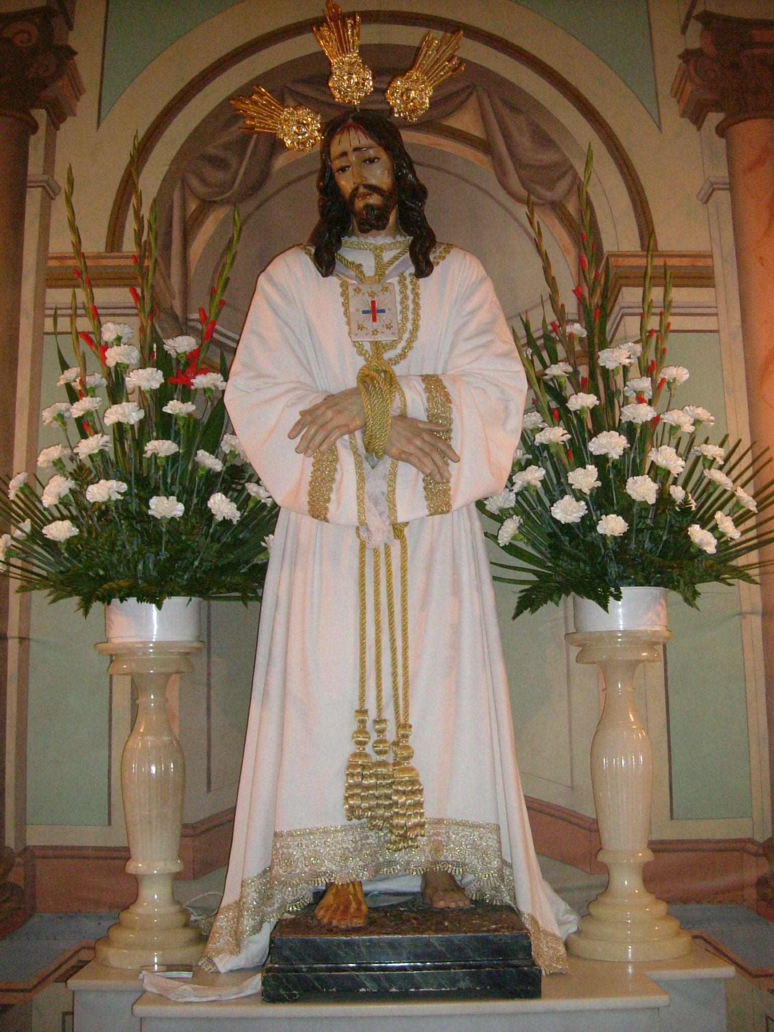 imagen de jesus cautivo