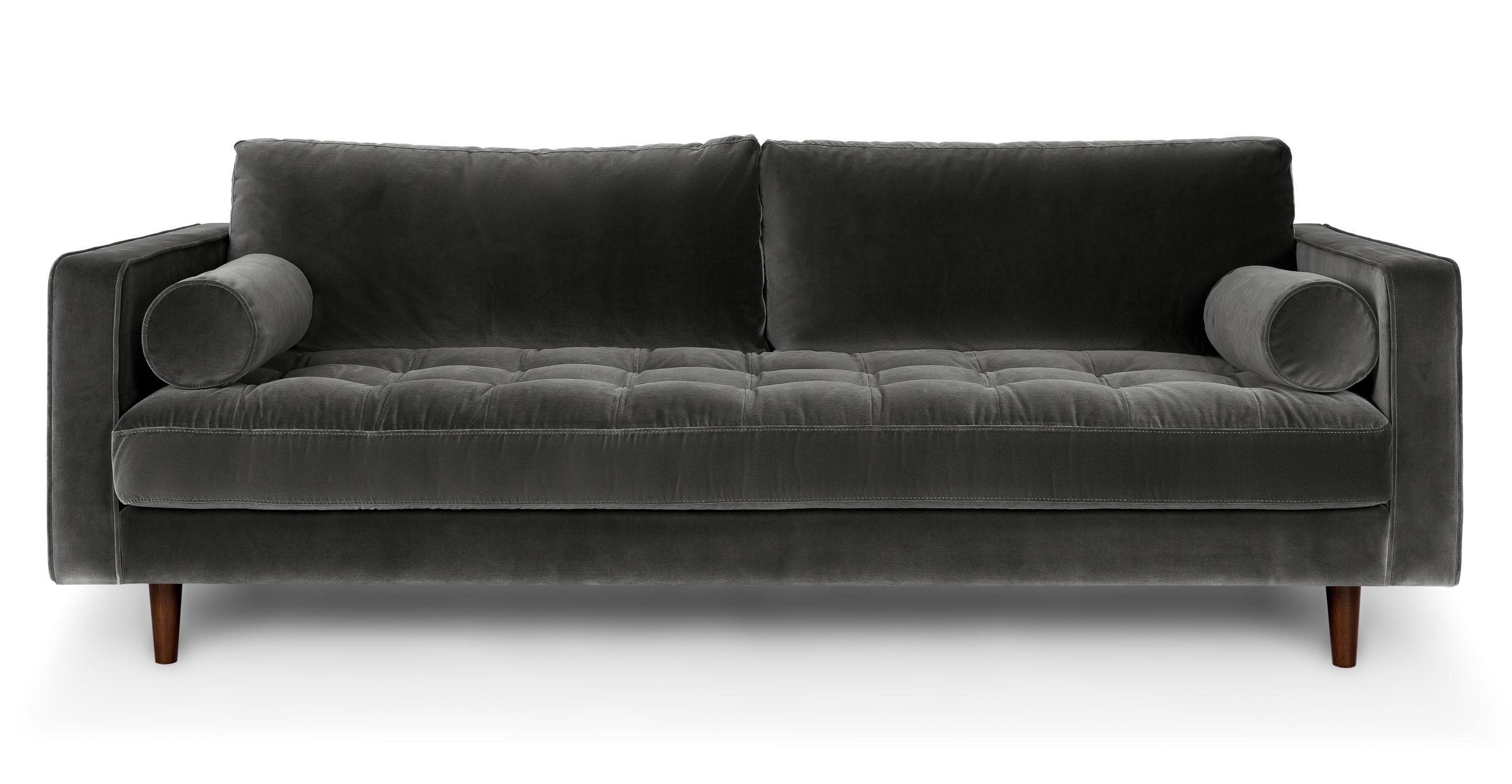 Inspirationen Retro Schnitt Couch Mobelde Com Grunes Sofa Bequemes Sofa Modernes Sofa
