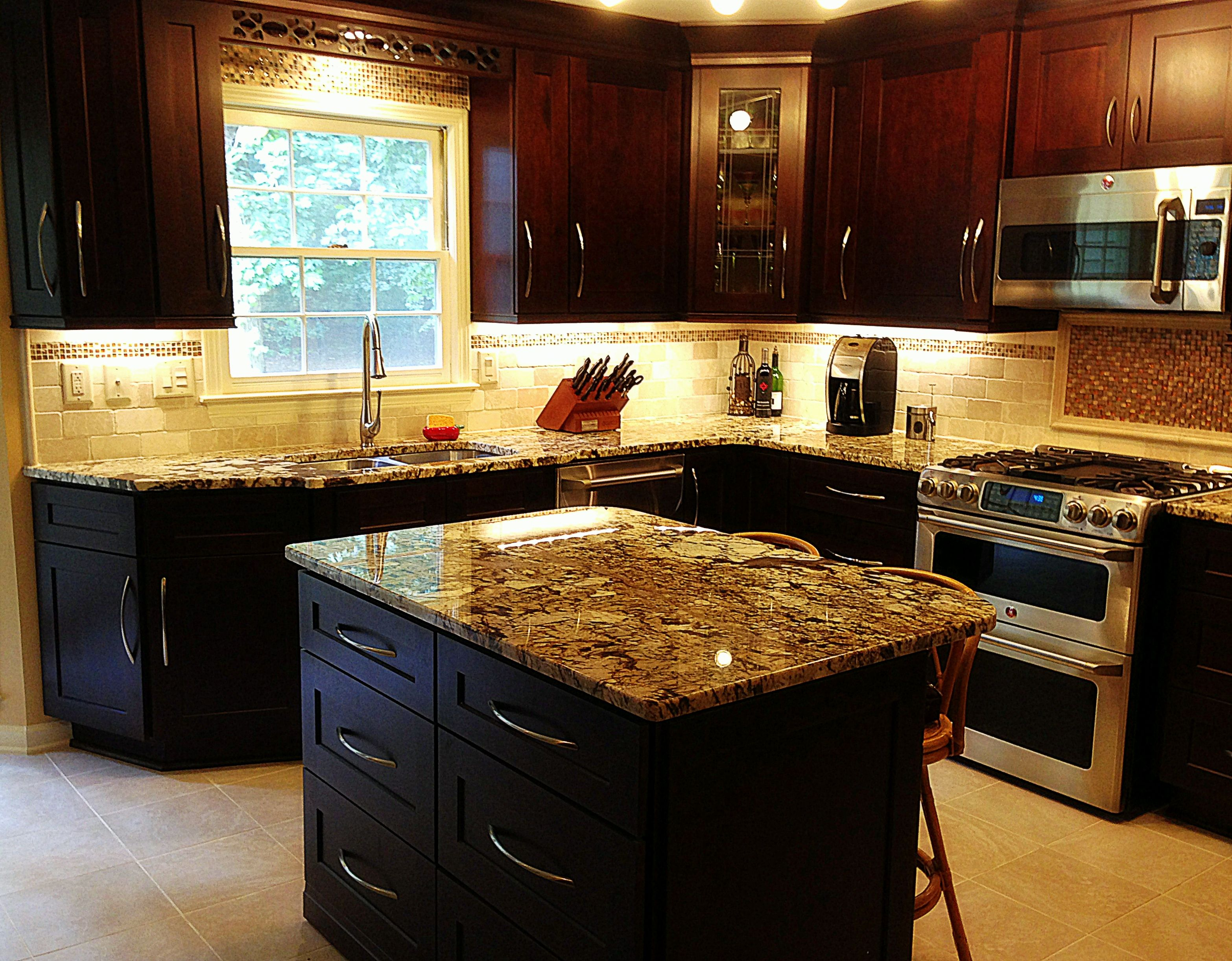Uncategorized Exotic Kitchen Cabinets beautiful mocha maple shaker cabinets and exotic normandy granite countertops