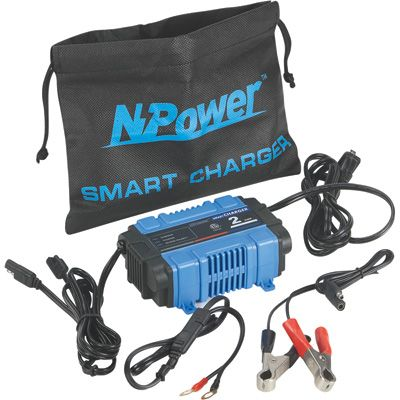 Npower Battery Charger Maintainer 2 Amp Battery Charger