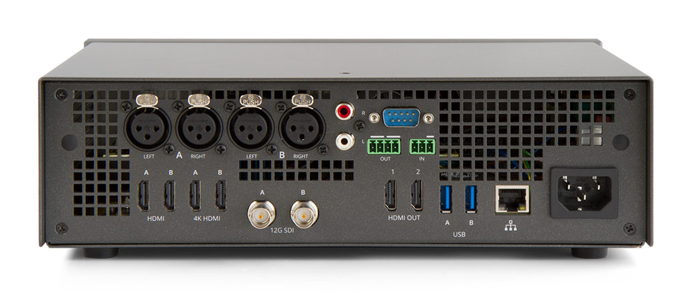 Pearl2 HD and 4K live video production with this allin