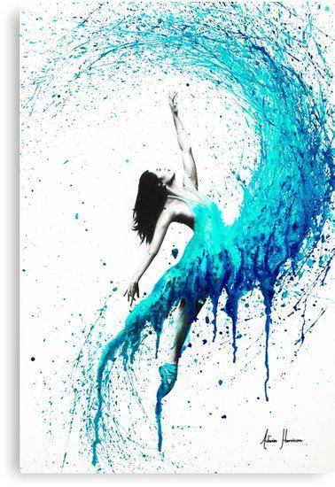 Olas de baile | Lienzo