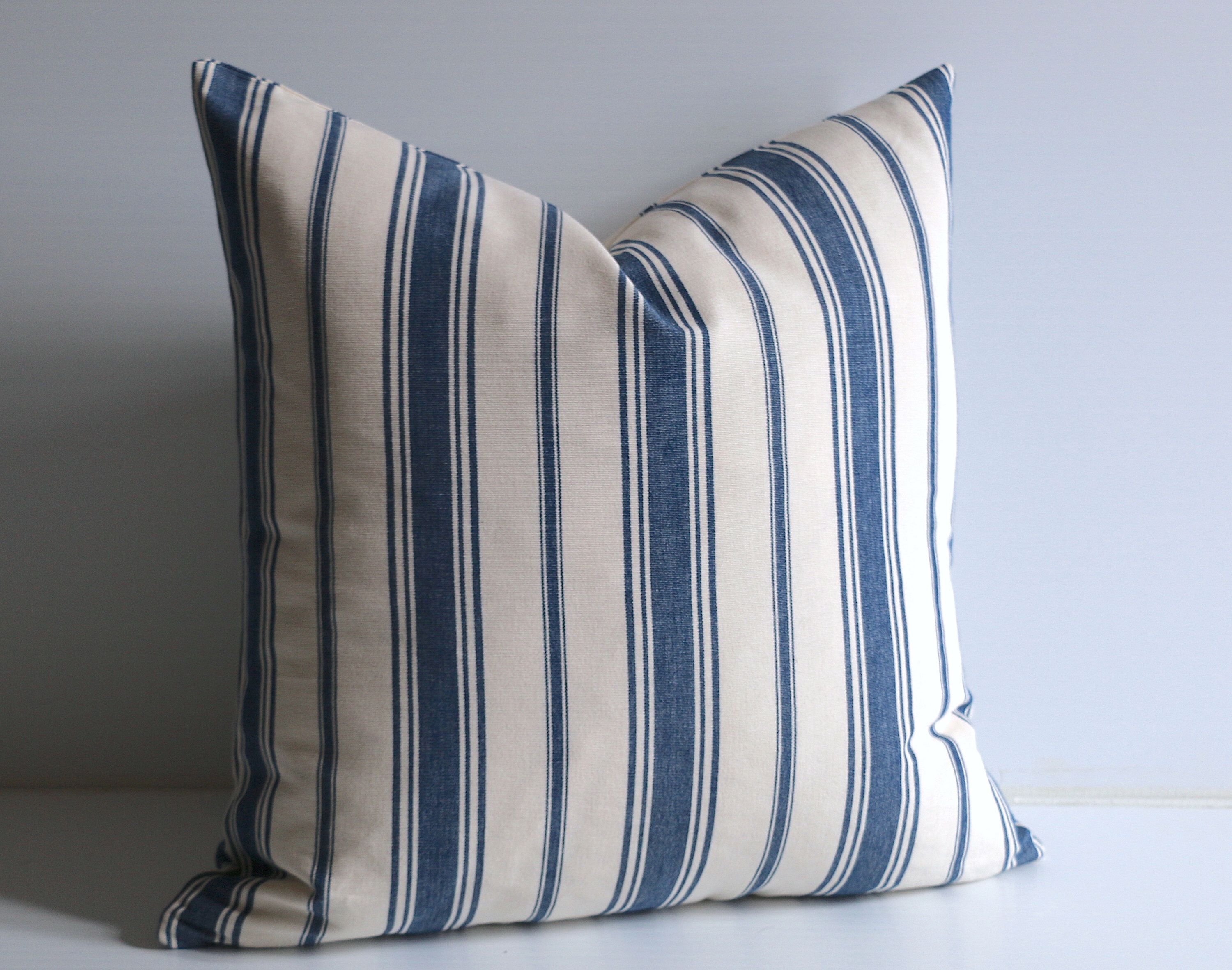 Decorative Pillow Striped Pillow Cover Pillow Cover 28 X 28