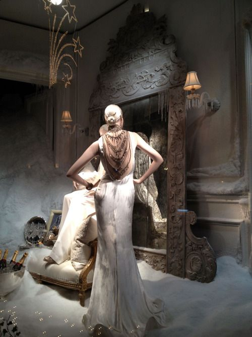Brian Gluckstein tumblr - Beautiful window at Ralph Lauren.