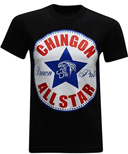 3c069f40f Chingon All-Star Men's Mexican Chicano Hispanic Latino Humor Funny T-Shirt