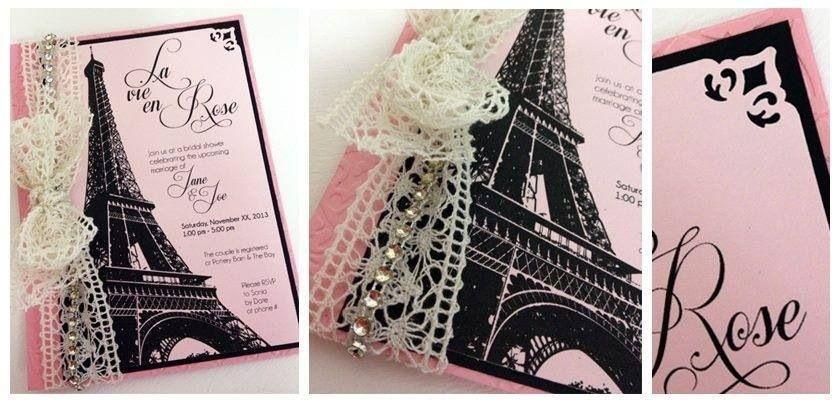 Vintage Paris Themed Invitation Quinceanera Ideas In 2019