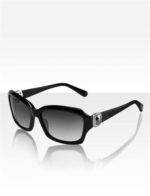 8346630156 David Yurman sunglasses with onyx!!! yum!