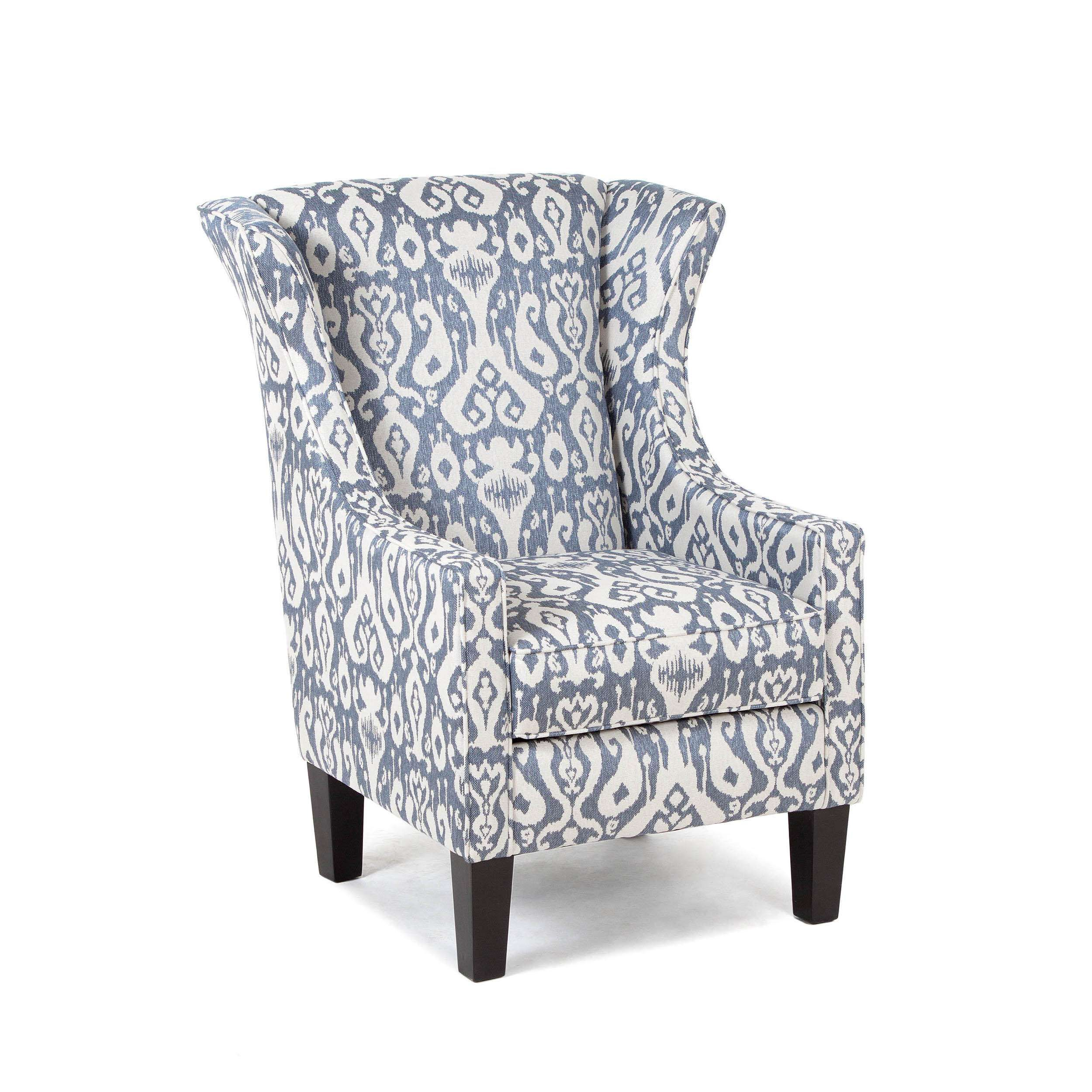 Chelsea Home Jubilee Casbah Denim Accent Chair Amp Reviews