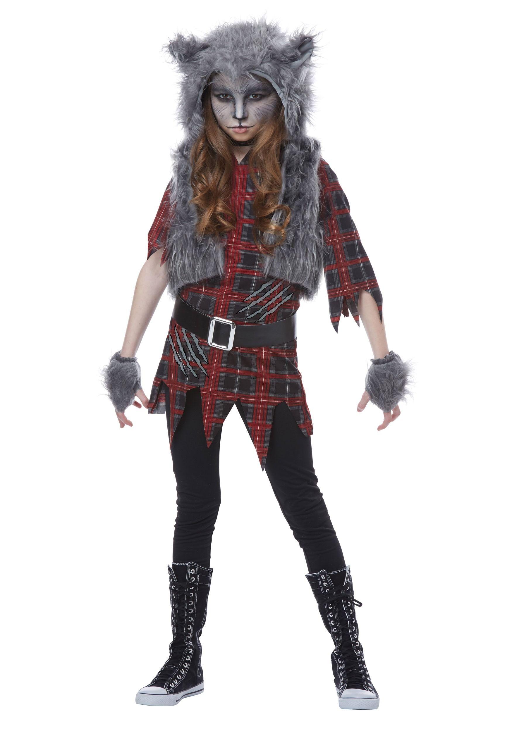 Image result for woman werewolf costume girl werewolf