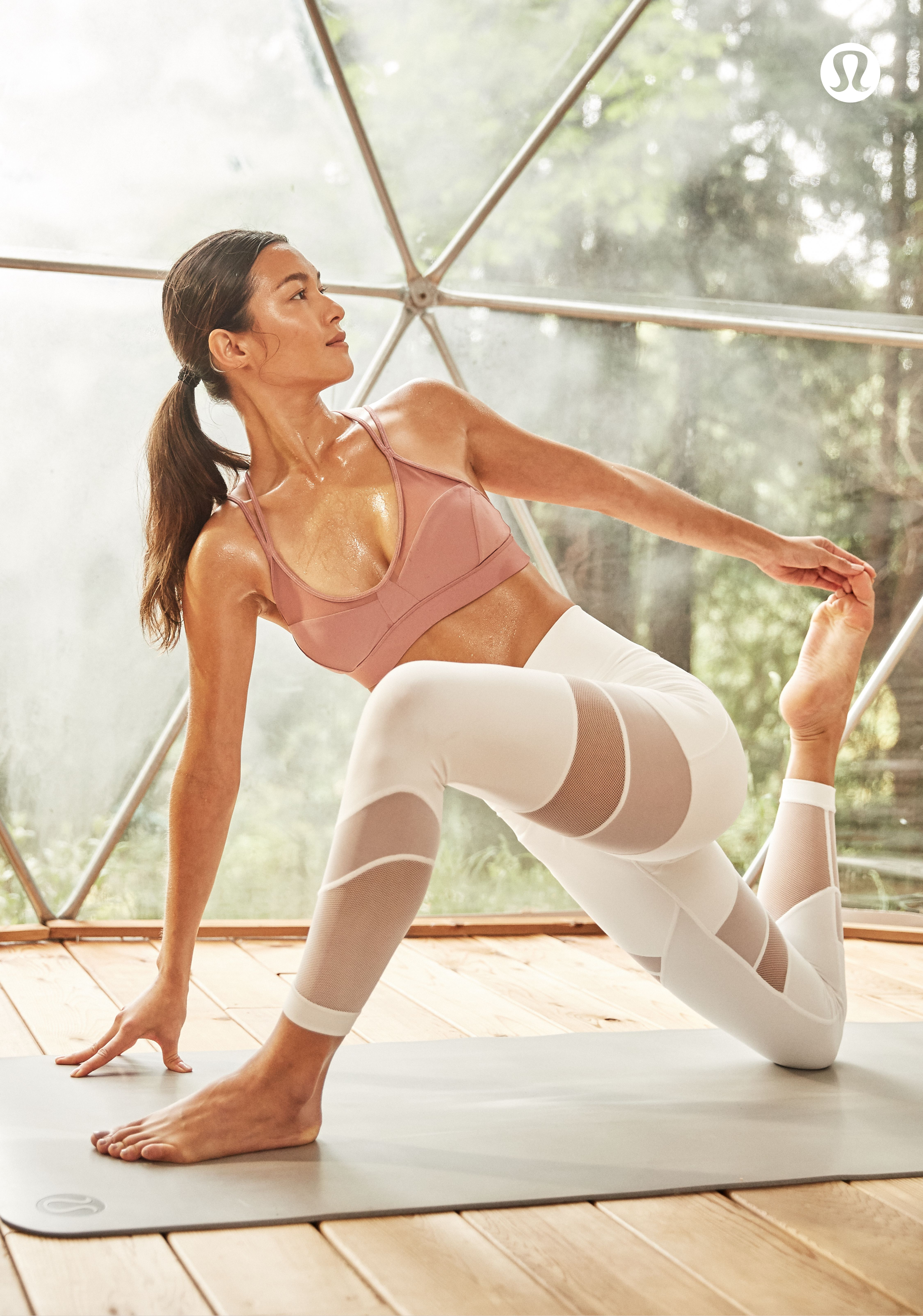 Hot Yoga Gear That Keeps You Cool As You Flow Through Your Practice Lululemon Cool Yoga Poses Hot Yoga Poses Yoga Poses Pictures